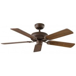 Ceiling Fan, white, DC, Imperial, customize yourself. CASAFAN 132 BZ