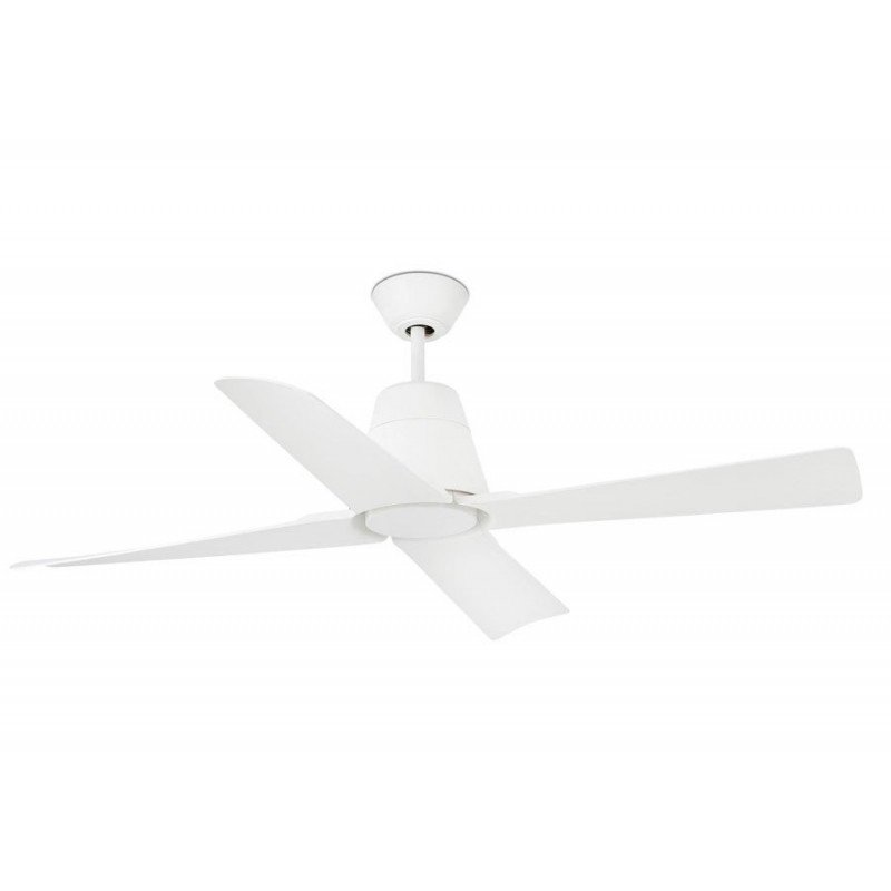 Ceiling fan very large size white lacquered modern DC 215 cm FARO ANDROS 33461