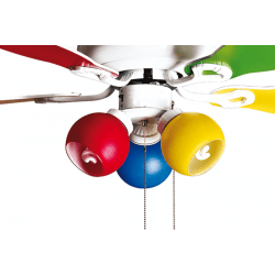 Colore de Purline By KlassFan a ceiling fan with reversible function and light