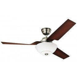 Hunter flight BN - Designer Ceiling fan , silent, modern 132 cm
