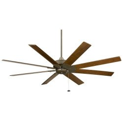 Ceiling fan 160 Cm Faimation LEVON Modern design large size 8 blades walnut warranty 25 years