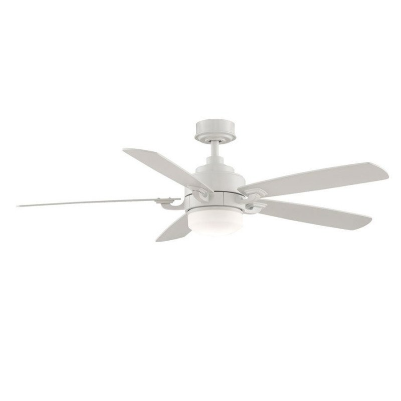 Ceiling fan 132 Cm Fanimation The Benito Modern design, remote control, light point, white blades
