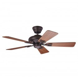 ceiling fan, bronze with cherry blades, silent, 112 cm Hunter Seveille