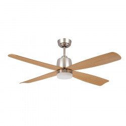 Ceiling fan DC 132 Cm Alize, a modern fan, LED light point, and remote maple blades.