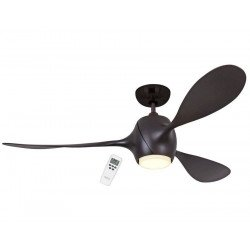 Eco Fiore 142 Cm ceiling fan design bronze blades bronze spot led.