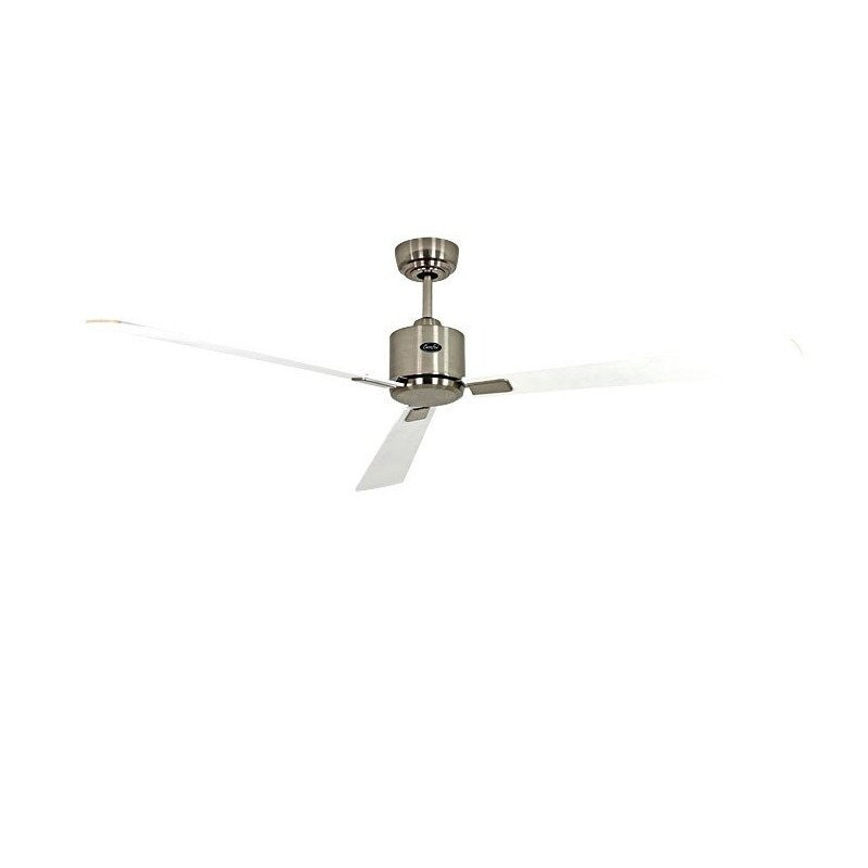 Ceiling Fan, DC, 152 Cm. modern, white lacquer, remote CASAFAN Eco II Neo WE