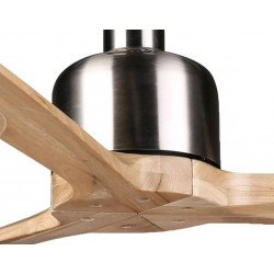 Ceiling Fan DC Motor, 166 Cm Solid Wood Blades, Ultra Quiet, Klassfan Latino
