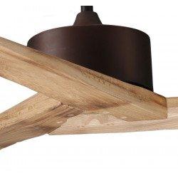 Ceiling Fan DC Motor, 152 Cm Solid Wood Blades, Ultra Quiet, Klassfan RACINE