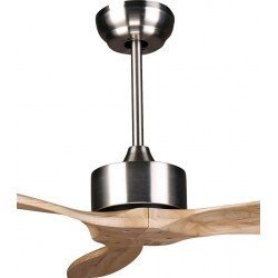 Ceiling Fan DC Motor, 132 Cm Solid Wood Blades, Ultra Quiet, Klassfan Arime