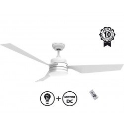 Profillé from KlassFan limited DC ceiling fans designer series, more compact, ultra powerful, with LED lighting system