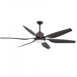Ceiling Fan 168 cm. with light, DC motor, FARO TILOS 33466