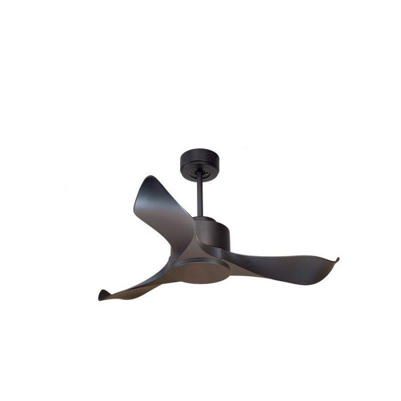 Modulo de KlassFan - DC fan Ceiling basalt gray without light ideal for 20 to 30 m² ultra efficient Kl_DC1_L1Bk