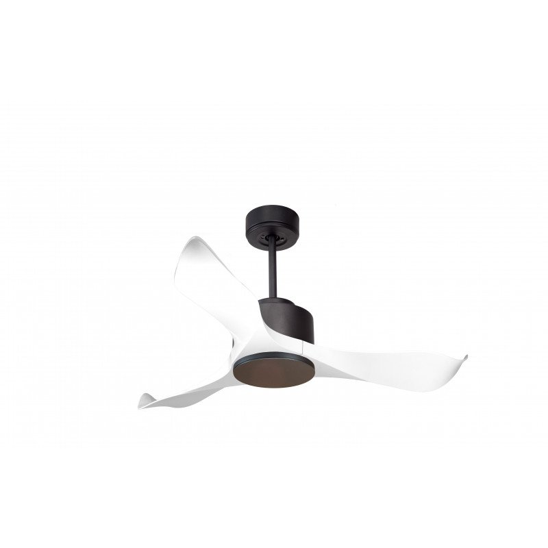 KL_DC1L1Wi KlassFan Modulo - DC ceiling fan without light gray and white ideal for 20 to 30 m² ultra efficient