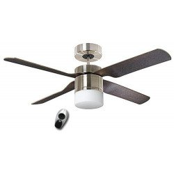 Ceiling Fan, Multimax BN, 132 Cm. modern, with light, remote control blades wenge grayCASAFAN