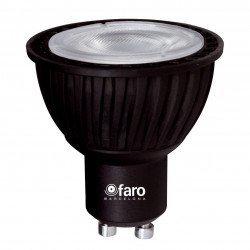 4 LED bulbs 5W GU10 warm white 45 °