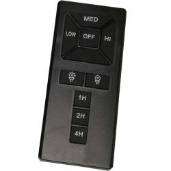 IR universal remote control for ceiling fan ideal for energy saving LEDs and bulbs