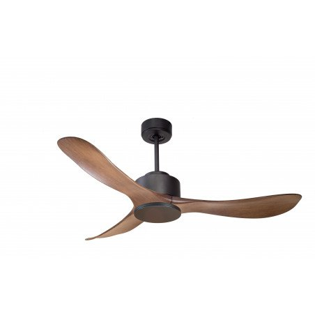 Modulo by KlassFan - air destratification fan Gray Basalt and Wood for 25 to 40 sqm KL_DC1_P3Wo