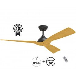 Ceiling Fan DC Motor, 132 Cm , Ultra Quiet, Klassfan Waterwind, IP44, External and Internal Use