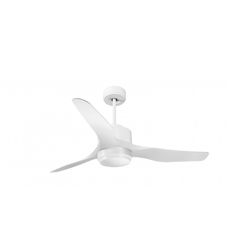 KlassFan Modulo - Super Air Destratification Fan, with Light, White, ideal for 70 to 90 m² KL_DC4_P4Wi_L1Wi