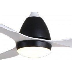 KlassFan Fresh a DC ceiling destratification fan, ultra quiet performance, with thermostat