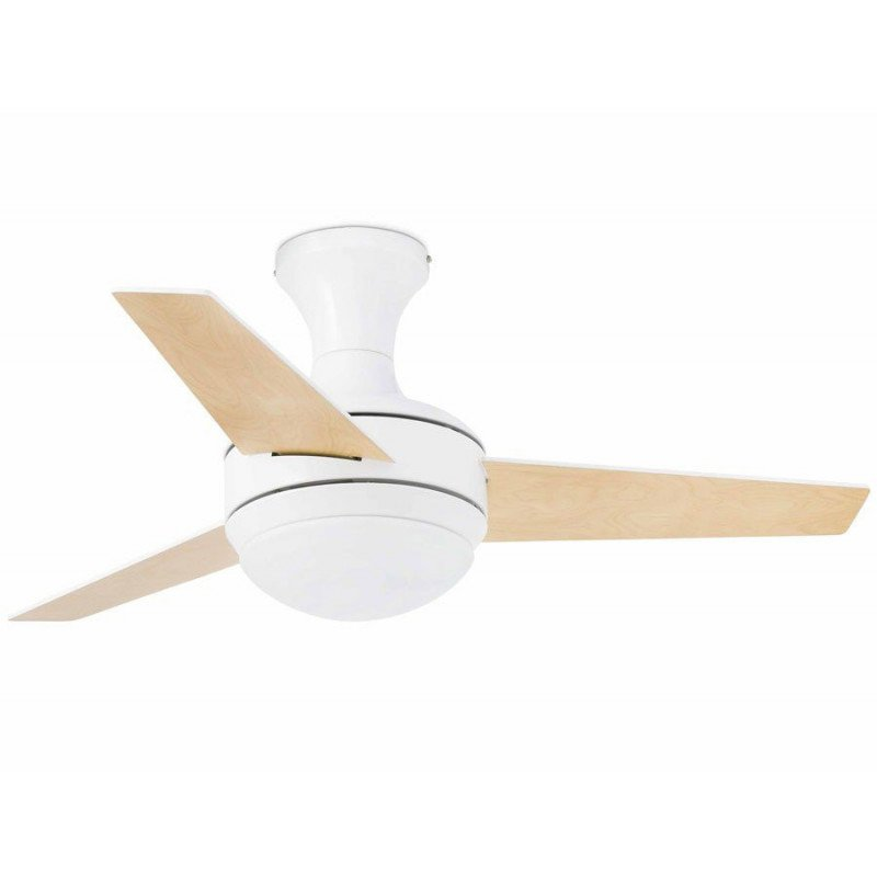 Ceiling fan, modern, lamp, 100 cm, IR remote control, FARO MINI UFO 33454