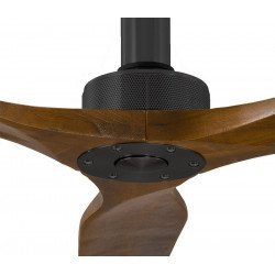 Sofyt by KlassFan a designer DC ceiling fan, 152 Cm, walnut blades, ultra quiet