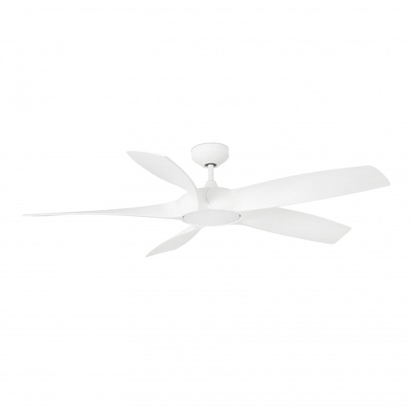 DC ceiling fan with remote control with dimmable led 137 cm FARO Cocos 33548