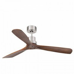 Ceiling Fan, design, solid walnut blades Lantau FARO 33370