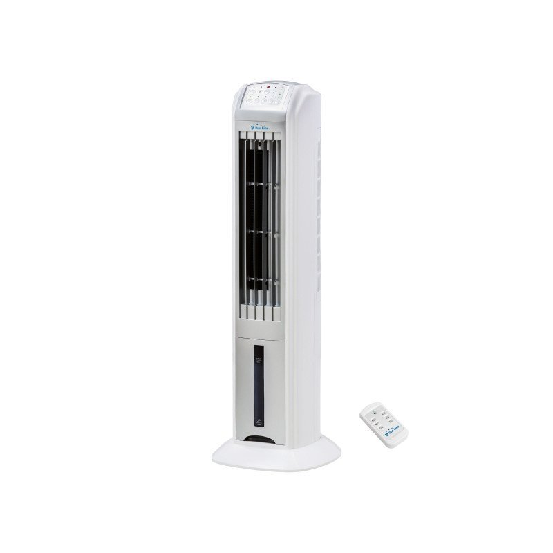 Rafy 79 air cooler, a superb ventilation tower that cools descreetly, elegantly and efficiently