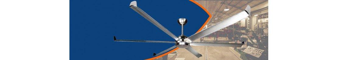 Industrial ceiling fan, ultra effcetives
