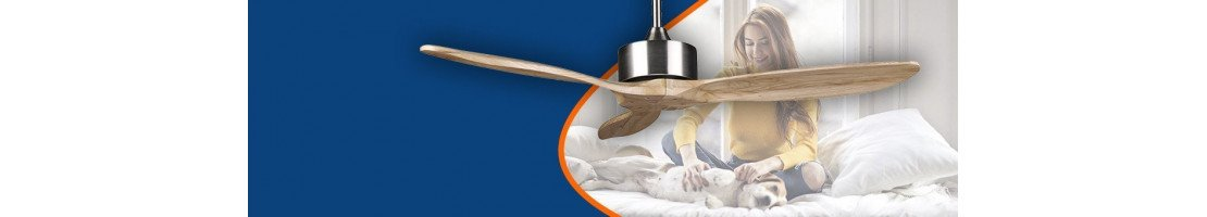 Ceiling fans without lamp at low prices (-200 €)