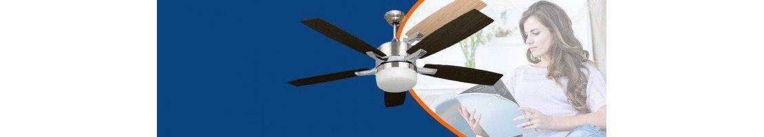 Ventilateur de plafond avec lampe à PETITS PRIX ( -150 €)